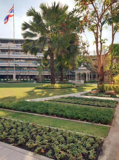 PARK AREA & PLAYGROUND -PHRAHARUTHAI CONVENT SCHOOL